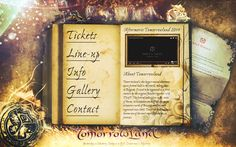 Collage website Tomorrowland