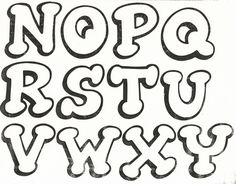 Moldes Letras E Numeros 5 Portal