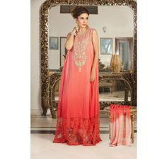 Pakistani Designer Dresses in UK - Lowest Prices - Fully Stitched Elegant Party Dress by Exclusiveinn. IN STOCK £119 - Latest Pakistani Fashion www.iluvdesigner.com I LOVE DESIGNER