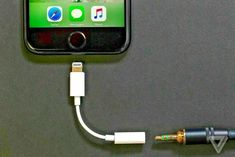 Apple included a spare dongle in the boxes of the iPhone X, 8 Plus, and 7 Plus phones, but it isn't so generous this year when it comes to including a audio dongle in the box. The dongle is no longer a free accessory and the new iPhones won't ship with… Iphone 8 Plus, Iphone 6, Iphone Charger, Apple Iphone, Iphone Headphones, Audio Headphones, Iphone 7 Adapter, Iphone 7 Review, Headphone Splitter