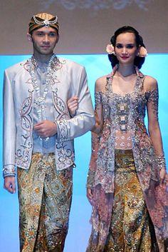 mode baju pengantin tradisional