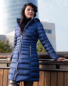 #FW16 #Collection #HenryArroway #down #coats #Roc #ultralight #fashionable #cobalto #autumnal #colour #iberdrola @upv/ehu @conchigarciaalbarran @conchicoach #bilbao #basque #country Available on the Website: henryarroway.com