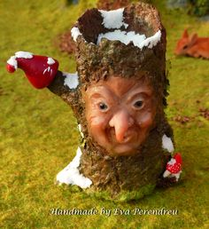 Snowed Fairy tree for dollhouse or terrarium, 75.90, on Etsy, from Evamini (Eva Perendreu)