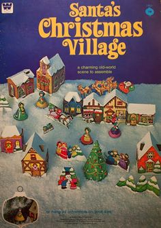 HOUSE OF PAPER: dollhouse paper: Christmas Village by Kara Shallenberg