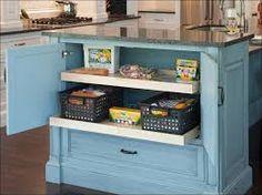 Image result for storage under cabinets kitchen