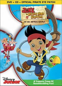 Jake and the Never Land Pirates: Season 1, Vol. 1 (2 Discs) (DVD/CD) (With Eye Patch) (Widescreen)