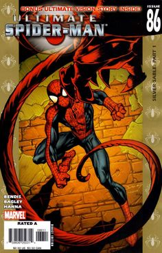 Ultimate Spider-Man #86 - Silver Sable: Part 1; Visions, Part 1
