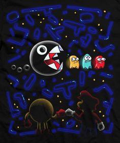 pacman and mario   Pac Man y Mario, la nueva amistad   El Blog de Topofarmer