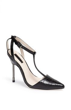 Topshop 'Ghost' T-Strap Pump available at #Nordstrom