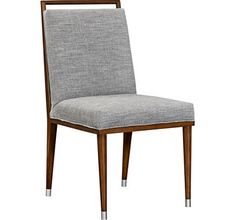Talice Upholstered Dining Side Chair from the David Kleinberg collection by Henredon Furniture