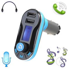 Original Wireless Bluetooth FM Transmitter  MP3 Player  USB Charger  Handsfree with Micro SD Card Reader for Smart Phone | #WirelessCharger