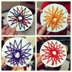 Fresh From the Art Room: Radial Weavings