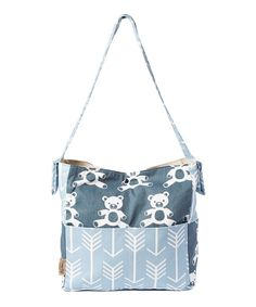Loving this Brownie Gifts Teddy Bear Diaper Bag on #zulily! #zulilyfinds