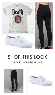"""Untitled #6537"" by hopefulstyle ❤ liked on Polyvore featuring lululemon, Keds and keds"