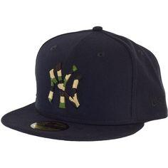 New Era Camo Fill Cap NY Yankees black ★★★★★