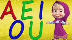 las vocales canción infantil - a e i o u - Videos Educativos en español ...