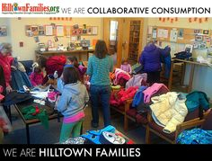 Value collaborative consumption? It's one of Hilltown Families 12 values that infuses our mission of supporting education through community engagement! Donate to Hilltown Families on May 3 during Valley Gives Day so we may continue to share learning opportunities found in community-based engagement through the sharing of skills, knowledge and resources: