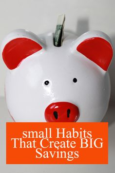 I feel like I'm saving big with these small habits.