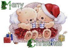 Christmas Animations: E-card merry Christmas