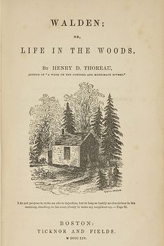 Walden; or, Life in the Woods by Henry David Thoreau | 19 Books That Will Fuel Your Wanderlust