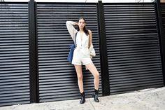 The Best Street Style of New York Fashion Week: Mona Matsuoka