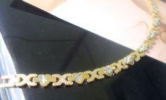 New latest Yellow 18K Gold GP chain bracelet chain women's gift jewelry sl44