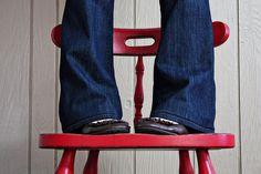 How to Hem Jeans {And Keep The Original Hem}