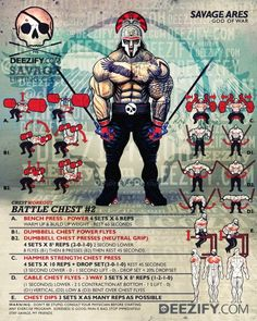 chest workout: battle chest 2 with ares