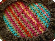I spent my weekend going around in circles learning how to #knit flat with circular needles. #knitting #crochet #craft