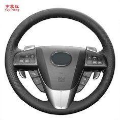 61 43 خصم 18 أغطية مقود سيارة من الجلد الاصطناعي Yuji Hk لمازدا 3 2011 2015 Cx 7 Cx 9 مازدا 5 2011 2013 غطاء مخيط يدوي ا Mazda Mazda 3 2011 Mazda 3
