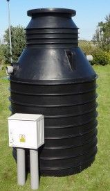 Oczyszczalnia Biologiczna w oparciu o technologię złoża biologicznego i osadu czynnego. Przydomowa Oczyszczalnia Ścieków 2000 l dla 4-6 osób