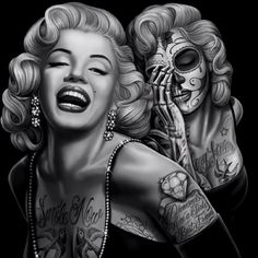 Marilyn Monroe drawn by D.Gonzales