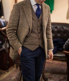 bntailor:  Tweed, Flannel, Denim All at B&Tailorshop