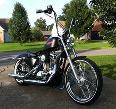 Brians Harley 72 Sportster DKCustom Outlaw HiFlow 587