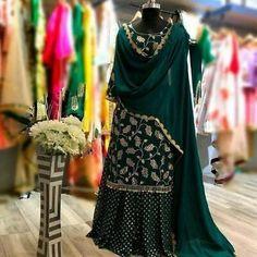 Sharara Suits, Sharara Suits For Girls, Buy Sharara Suits Online, Sharara Suits Near Me - Design interests Pakistani Dresses Casual, Indian Fashion Dresses, Dress Indian Style, Pakistani Dress Design, Sharara Designs, Lehenga Choli Designs, Kurti Designs Party Wear, Punjabi Suits Designer Boutique, Indian Designer Suits