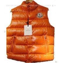 Down Vest Women Orange