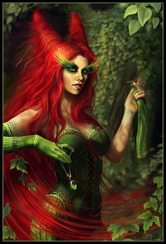 Poison Ivy, she's my all time favorite character from Batman!