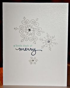 Stamping with Kim: Stylin' Stampin' Squad Blog Hop: November - Christmas Card Preview, Kim Ryden, Stampin' Up!, Endless Wishes, Photopolymer Stamp Sets