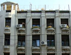 Art Deco apartment block, Bucharest