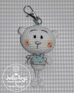Little Teddy Bear crochet pattern hand made by Monika Miszczuk