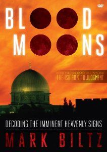 Blood Moons: Decoding the Imminent Heavenly Signs by Mark Biltz, George D. Escobar ~ This is one of the most current Christian topics. Whether something will come from these four upcoming blood moons (fulfilled prophecy) or not, it is an interesting topic. April 15 (next Tue) will be the first of four blood moons that will occur over the next 16 months. The odds are low to have so many of this type of eclipsed moon in such a short time. Further, many (all?) are falling on Jewish holidays.