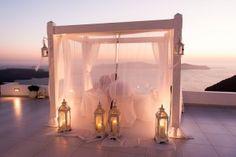 Romantic dinner for two @Dana Villas Wedding terrace  Photography by Nathan J Wyatt