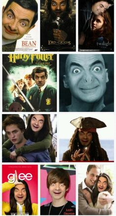 Mr. Bean should star in EVERYTHING.