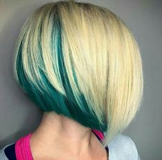 peekaboo color short hair - Google-keresés