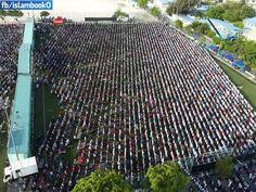 Eid prayer in Maladives