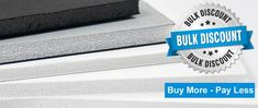 If you are looking for the best pricing on smaller foam core boards, then consider buying in bulk! We sell full boxes of foam mounting board in several different sizes at unbelievable prices. Foam Board Crafts, Mount Board, Creative Crafts, Boards, Fun, Planks, Crafts, Hilarious