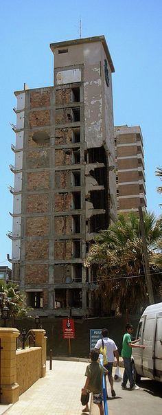 Varosha is a ghost town in Famagusta, Cyprus. Once a thriving holiday resort, Varosha is now completely uninhabited and hasn't been touched since the 70's!