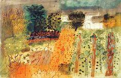 John Piper- so nice colours Paintings I Love, Beautiful Paintings, Garden Painting, Painting & Drawing, Abstract Landscape, Landscape Paintings, Landscape Drawings, John Piper Artist, Painting Inspiration
