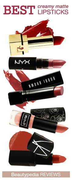 The best Creamy Matte lipsticks! #beautypedia #paulaschoice