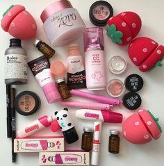 Skin Care Products For Acne - Skin Care Products Kawaii Makeup, Cute Makeup, Pretty Makeup, Emo Makeup, Makeup Inspo, Beauty Makeup, Makeup Brands, Korean Makeup Products, Beauty Products